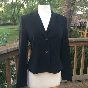Apt. 9 Black Stretch Blazer Jacket Size 8